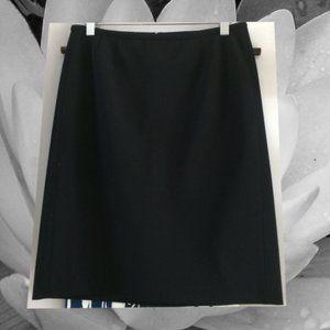 Prada black pencil skirt size 38